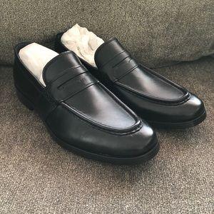 Black Cole Haan Slip On Loafer Dress Shoes Size 11